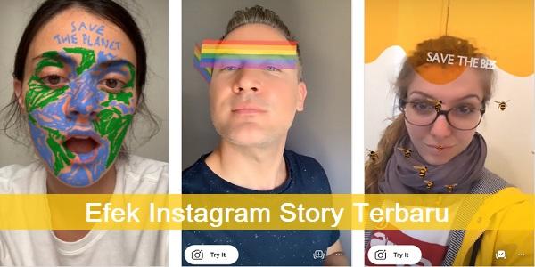 Efek Instagram Story Terbaru 2020